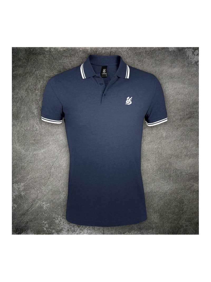 Men's Polo Shirt Iconic Blue