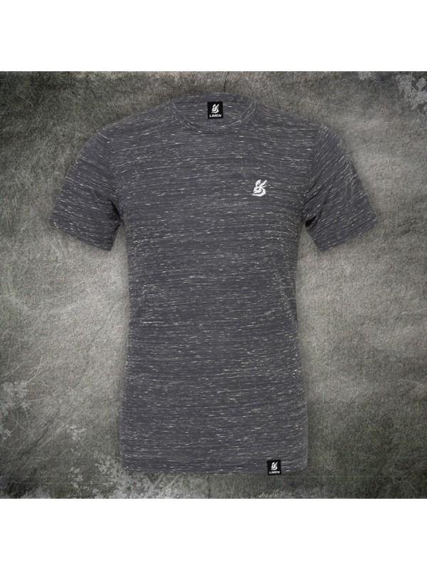 Unisex T-shirt Marble black
