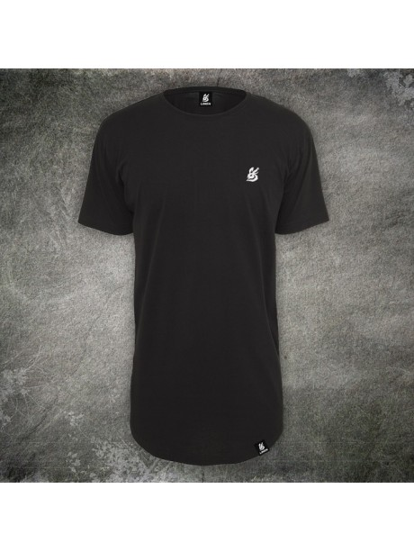 Men's T-shirt Long black
