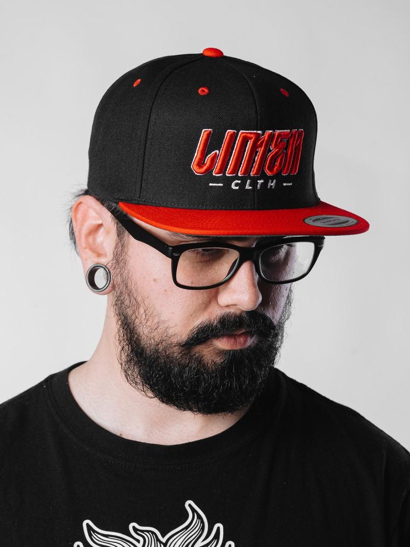 Snapback Renegade black/red
